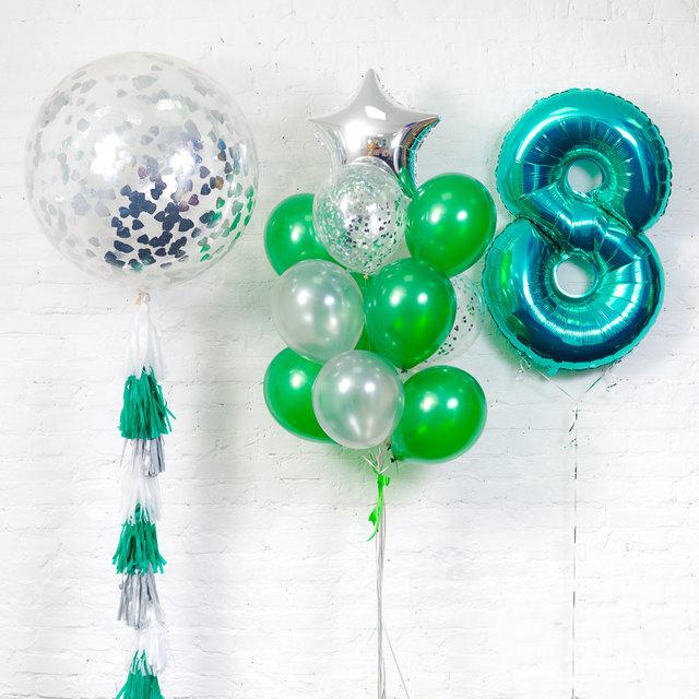 Оформление детских праздников воздушными шарами в Москве