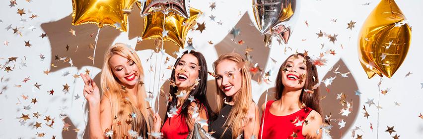 Купить воздушные шары на Новый год в Москве