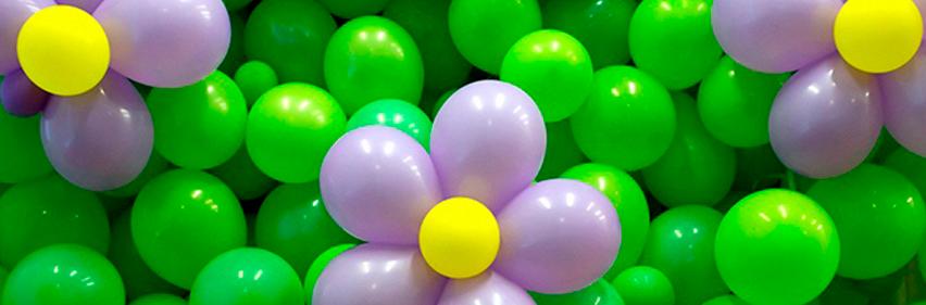 Купить цветы из шариков в Москве