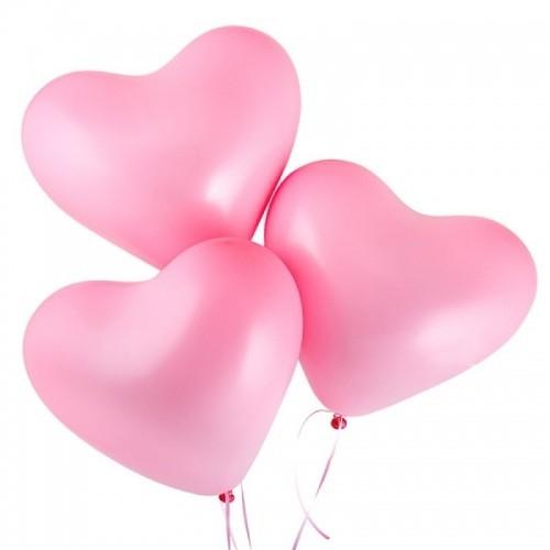 Купить воздушные шары в виде сердца с доставкой в Москве