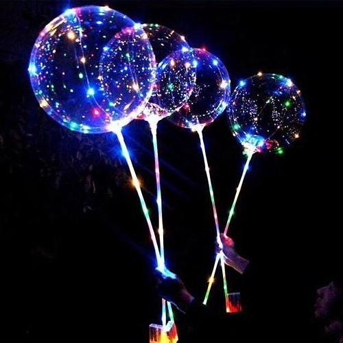 Купить светящиеся шары на палочке в Москве
