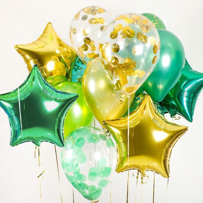 Заказать воздушные шары 23 февраля в Москве