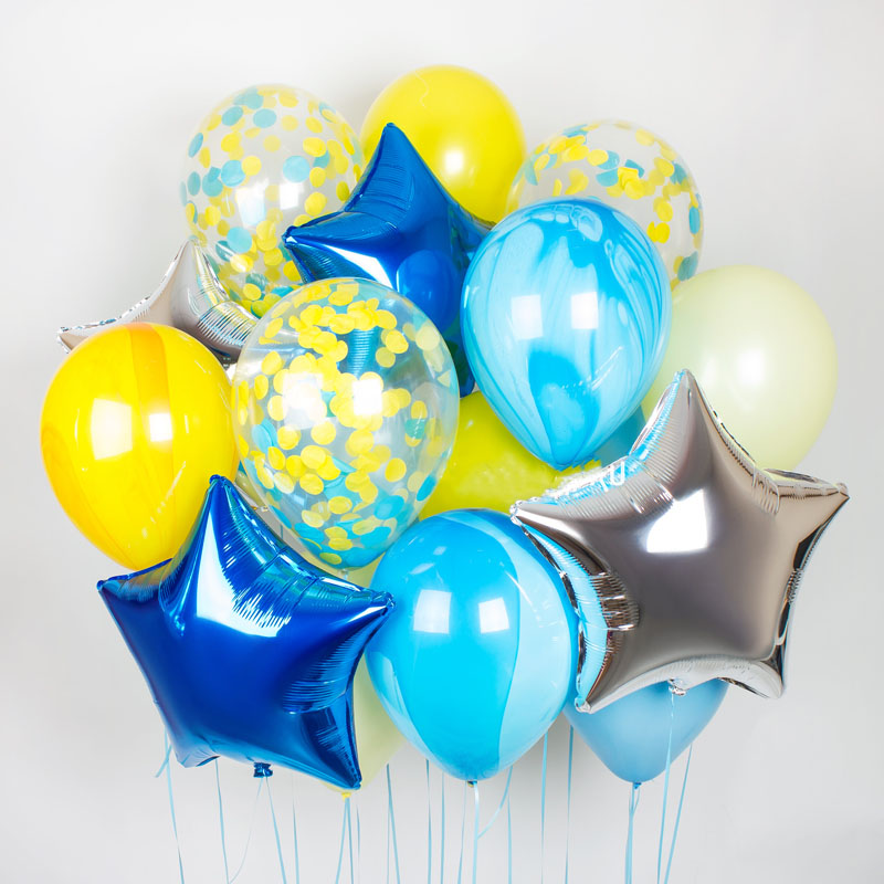 Заказать шары на 1 сентября в Москве