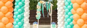 Оформление воздушными шарами торжественных событий в Москве