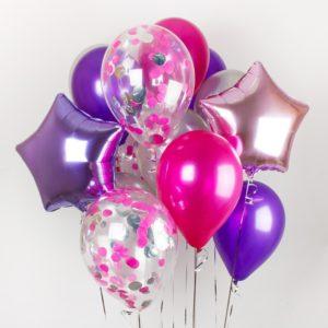 Заказ шаров с доставкой по Москве - Всемшарик.рф | купить воздушные шарики