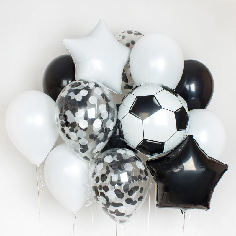 Фонтан из шаров для мальчика
