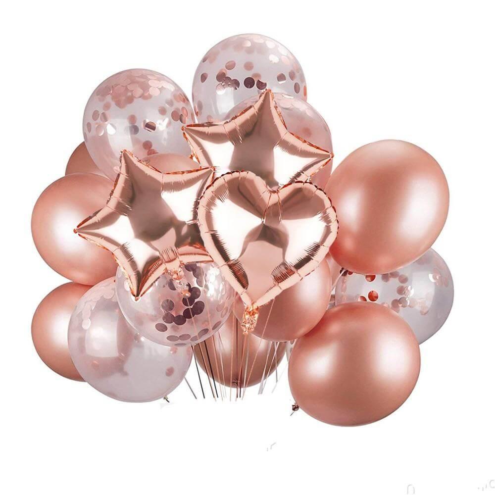 Красивые воздушные шарики на праздник