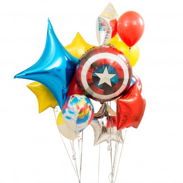 Заказ шаров на день рождения ребенка. Купить гелиевые шарики в Москве с доставкой.