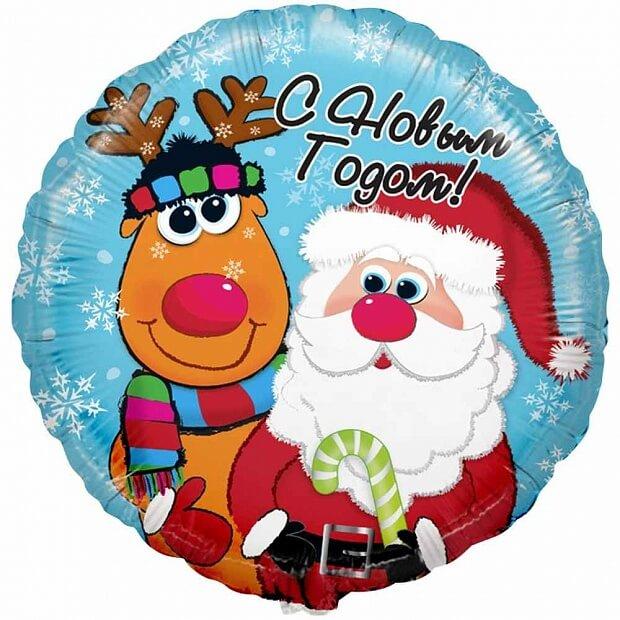 Украшение шарами на новогодние праздники