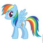 Купить воздушный шар радуга My Little Pony