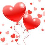 Купить воздушные шары сердечки