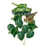 Купить воздушные шары на 23 февраля