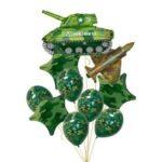 Подарки из шаров на 23 февраля