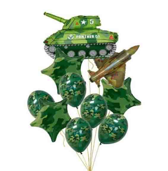 Гелиевый шар в качестве декораций