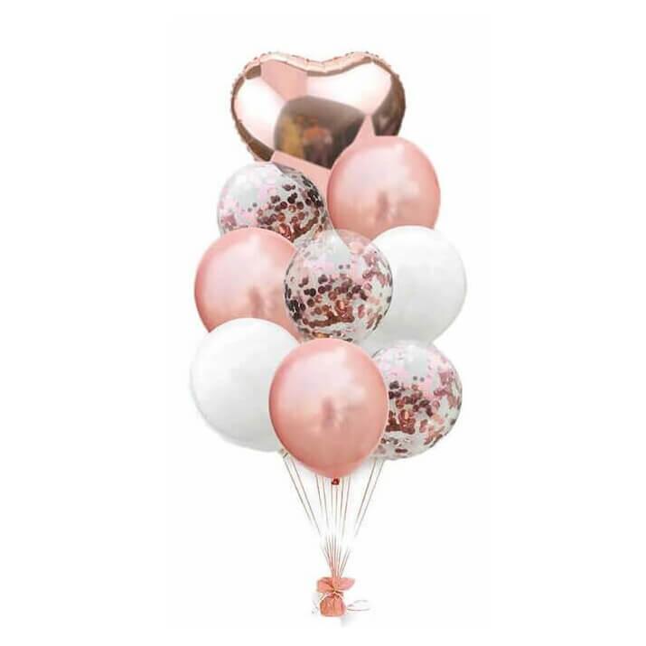 Купить шарики для праздника надутые гелием