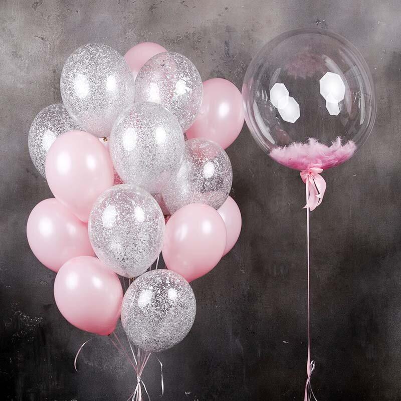 Заказать доставку шаров на дом